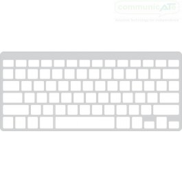 Keyguard for the Apple Wireless Keyboard