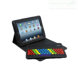 Chester Keys for iPad Air - coloured keys - angled keyboard