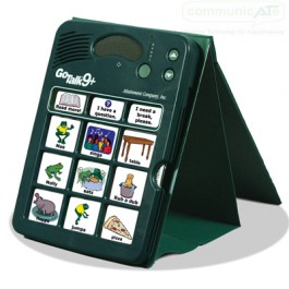 GoTalk Carry Stand with a GoTalk (not included)
