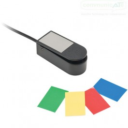 """Micro Light Switch - showing the included colour """"stickers"""""""