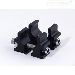Mount'n Mover Round Tube Bridge Clamp - Pair