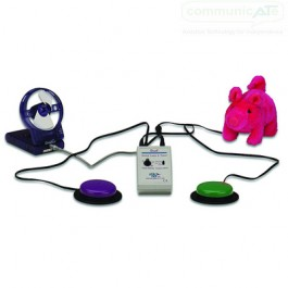 Dual Switch Latch and Timer - toys and switches not included, purchased separately