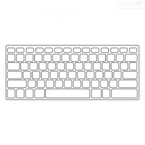 apple wireless keyboard keyguard communicate at 1 4 inch thick. Black Bedroom Furniture Sets. Home Design Ideas