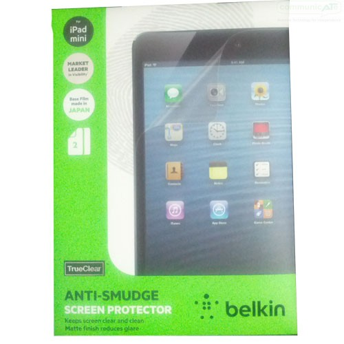 2 BELKIN TRUECLEAR TRANSPARENT CLEAR SCREEN PROTECTOR 2PACK FOR APPLE IPAD AIR 2
