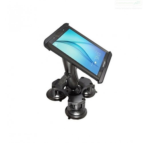 The RAM Table Top Triple Suction Cup Base Mount With IPad 234