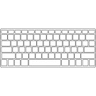 Apple MAGIC Keyboard Keyguard