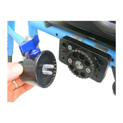 Inner Piece and Removable Frame Clamp Receiver with teeth