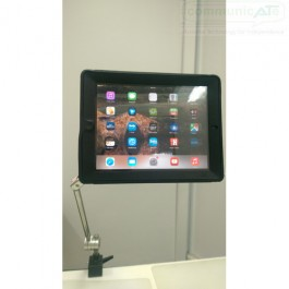 DAESSY Lite Desk Mount, DAESSY iPad Twist Adapter case (not included, sold separately)