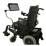 A wheelchair mount can be funded under the NDIS